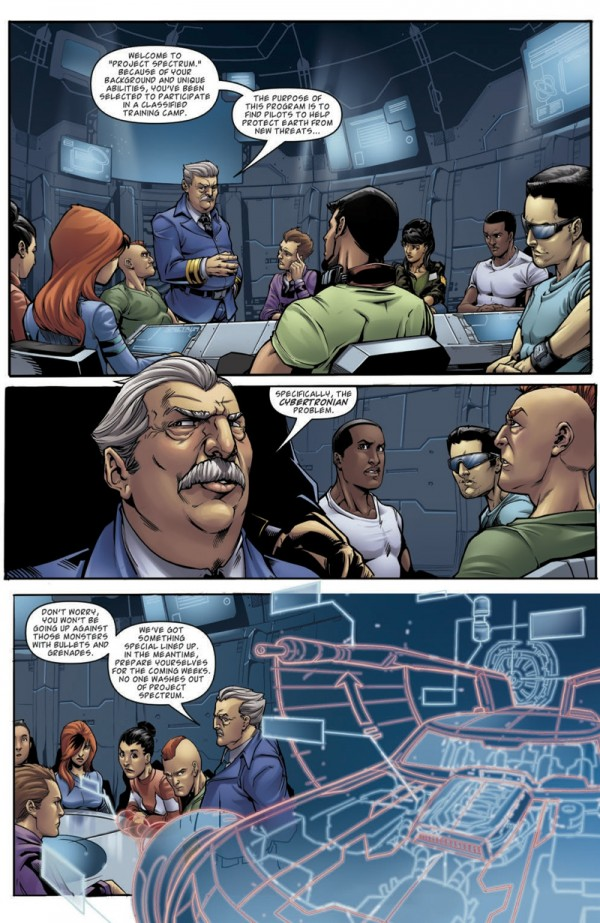 Preview 4 pages de M.A.S.K.: Revolution No. 1