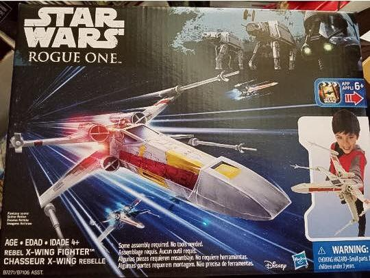 x-wing rogue One heros series