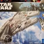 Star Wars, Hasbro  X-wing et Faucon Millenium géants