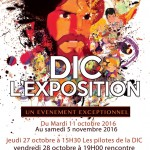 EVENEMENT : DIC L'EXPOSITION (Tours) du 11 octobre au 05 novembre 2016