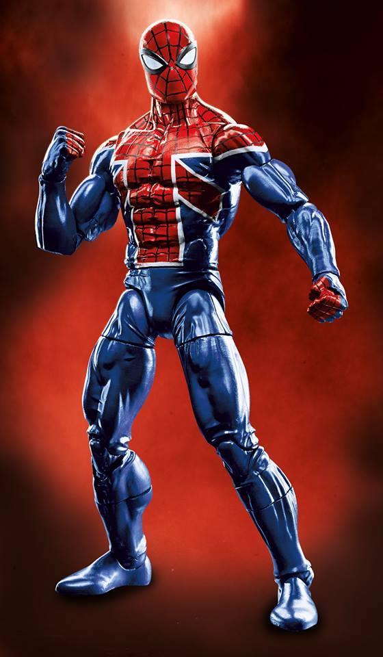Hasbro Marvel Legends Spiderman series BAF Sandman