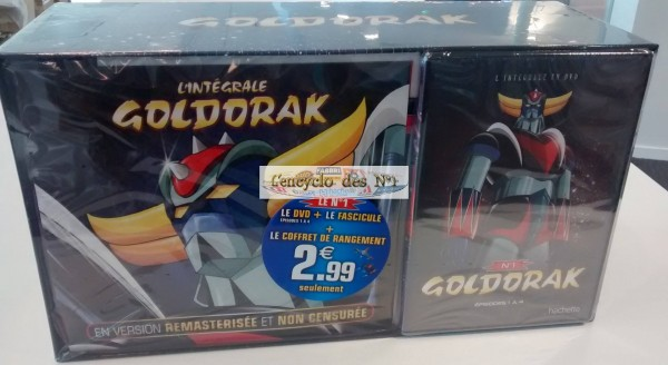 goldorak DVD en kiosque