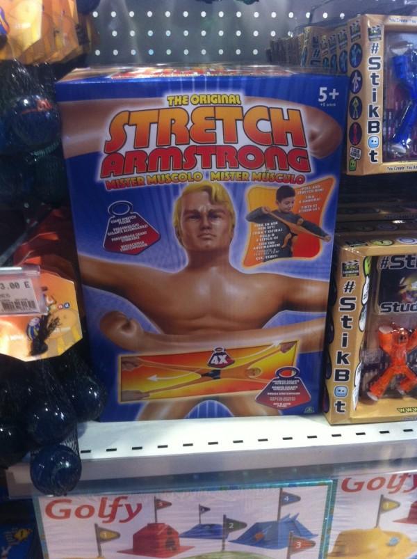 Stretch Armstrong L'original 30cm chez Giochi Preziosi