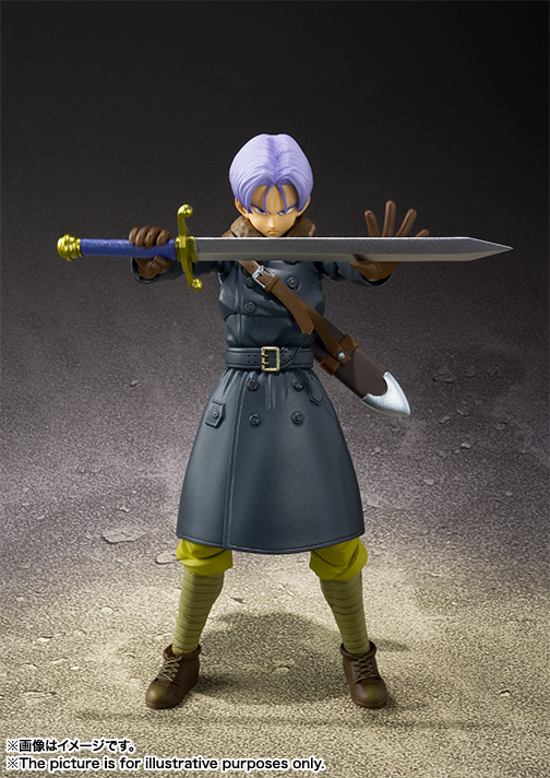 S.H.Figuarts Trunks Xenoverse Edition