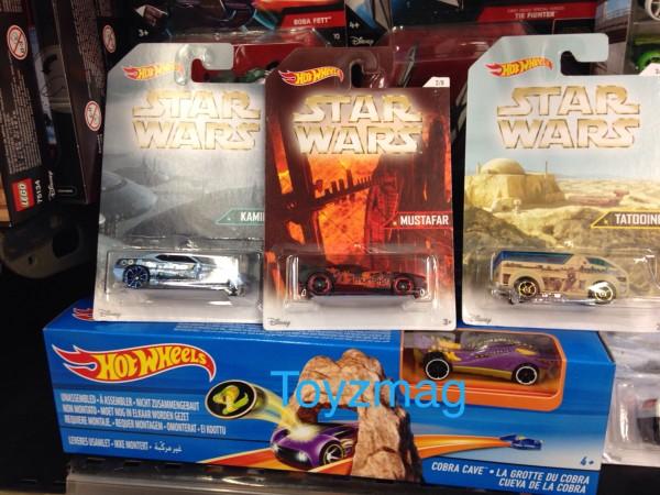 La bagnole Kamino est-elle amphibie ? Attention à ne pas brûler vos pneus sur Mustafar et ne pas vous ensabler sur Tatooine !