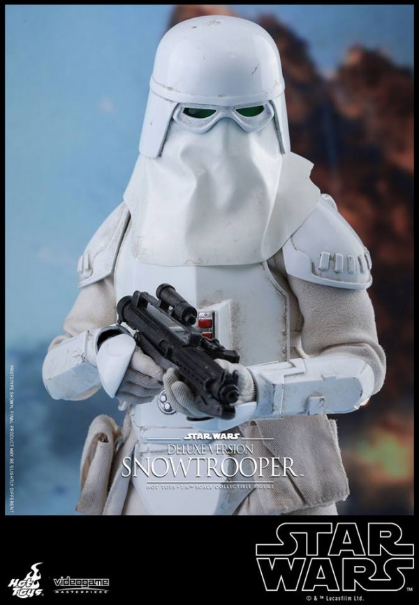 Star Wars Battlefront - 1/6th scale Snowtrooper (Deluxe Version)