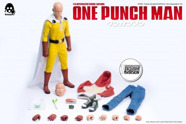 ONE–PUNCH MAN 1/6 Articulated Figure: SAITAMA pre-order info.