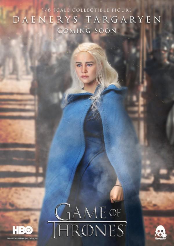 Daenerys Targaryen annoncée chez threezero