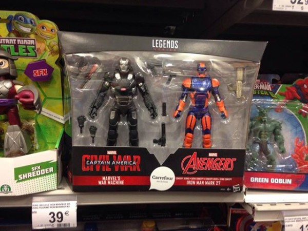 Marvel Legends Exclu Carrefour :