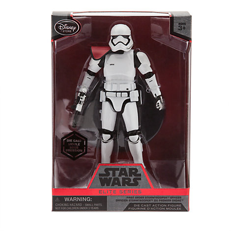 Figurine Star Wars Elite Series : Officier Stormtrooper du Premier Ordre  Star Wars : Le Réveil de la Force
