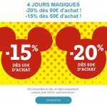 Bon Plan :  Jusqu'à -20% pendant 4 Jours sur DisneyStore.fr