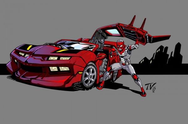 Matt-Trakker.com's new banner by M.A.S.K. comic artist Tony Vargas!!