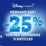 Bon plan : 25% de réduction sur DisneyStore.fr