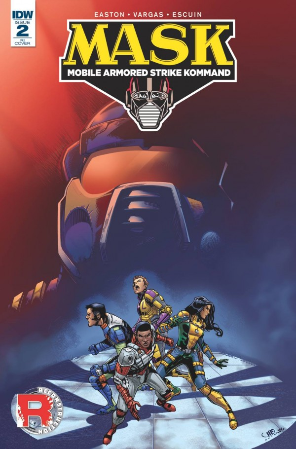 IDW Publishing M.A.S.K. #2 10-Copy Incentive Cover by Marcelo Ferreira