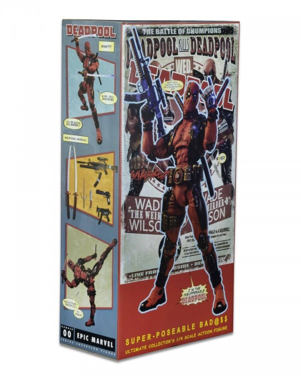 Marvel Comics 1/4 Scale Deadpool NECA