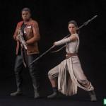 Star Wars The Force Awakens Rey & Finn ARTFX+ Two Pack