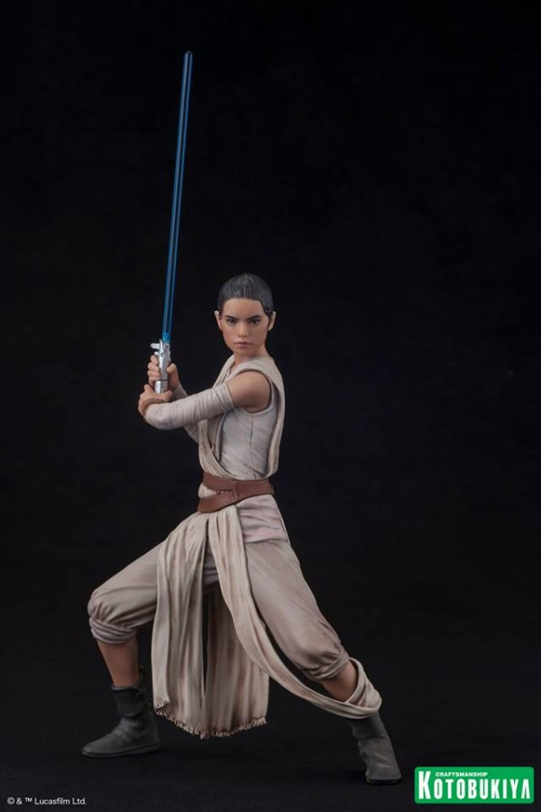 Star Wars The Force Awakens Rey & Finn ARTFX+ Two Pack