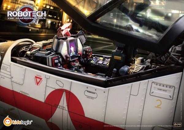 1:6 Valkyrie VF-1J, Robotech Macross Saga Cockpit Diorama