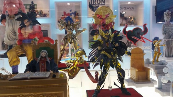 S.H. Figuarts Nappa S.H. Figuarts Vegeta Scouter Cosmic Group France  Spielwarenmesse  Nuremberg 2017