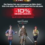 Sponsor : Code Promo Witcher3 sur figurines-cine.com