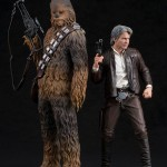 Star Wars: The Force Awakens - Han Solo & Chewbacca ARTFX+