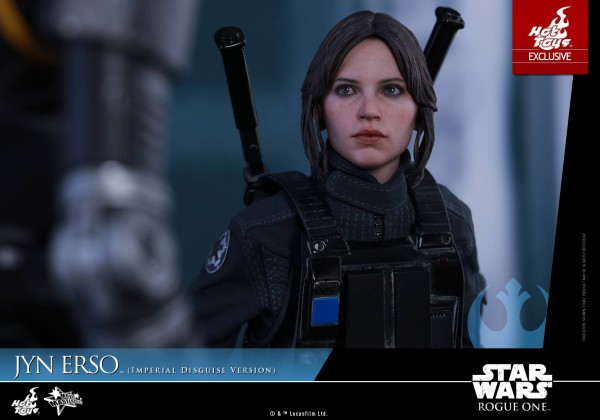 Rogue One - 1/6th scale Jyn Erso (Imperial Disguise Version). hot toysRogue One - 1/6th scale Jyn Erso (Imperial Disguise Version). hot toys