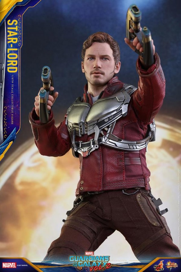 GOTG Vol. 2  : Star-Lord  par Hot Toys