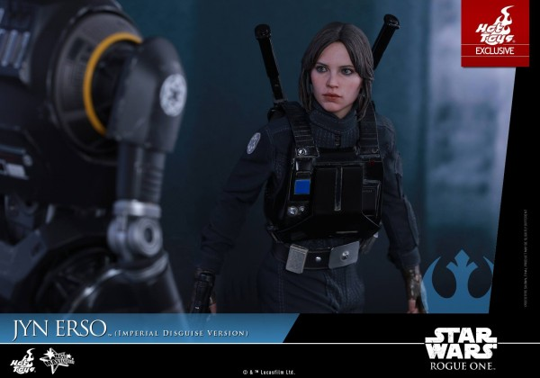 Rogue One - 1/6th scale Jyn Erso (Imperial Disguise Version). hot toys