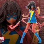 Miss Marvel (Kamara Khan) Bishoujo - les images officielles