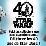 Star Wars, les produits 40e Anniversaire DisneyStore