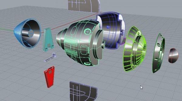 Cyberlab Metaltech  Capitaine Flam par HL Pro