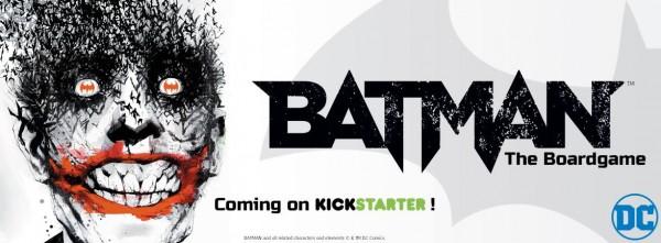 Batman adapté en jeu de plateau par Monolith