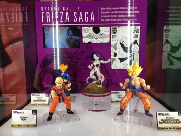 Les SHFiguarts Dragon Ball Tamashii Nations World Tour