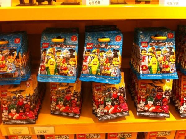 mini-figure mini-figurines LEGO serie 17