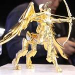 Saint Seiya : Tsume-Art, Bandai et une armure en or pur