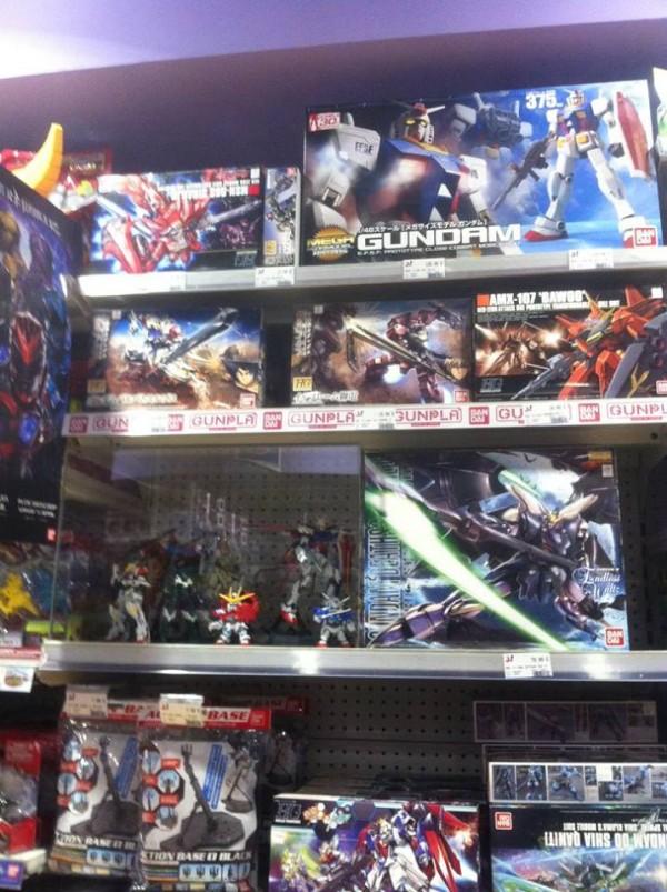 Kit Bandai Gundam : les fameux Gunpla,