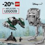 Bon plan : LEGO 20% de réduction avec notre code promo sur DisneyStore.fr
