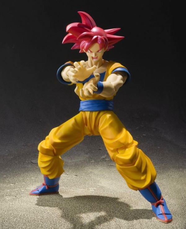 SHFiguarts son Goku Super Saiyan God