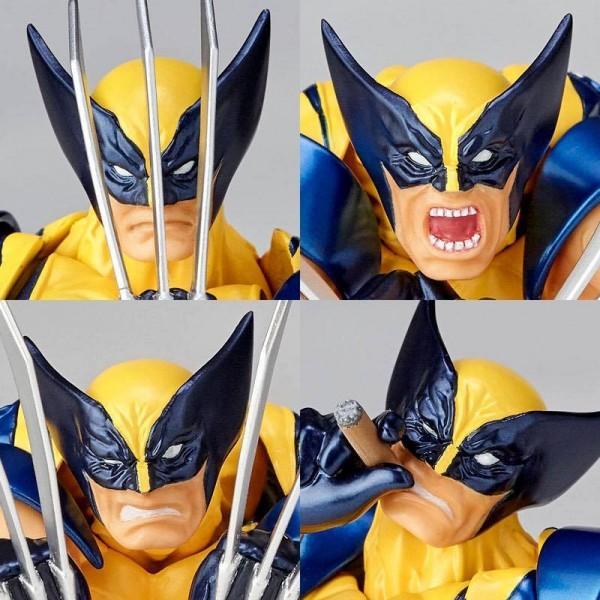 Kaiyodo, super heros, Super-Héros Marvel, wolverine, X-MEN