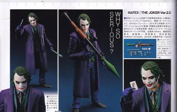 MAFEX the Joker 2.0 - The Dark Knight