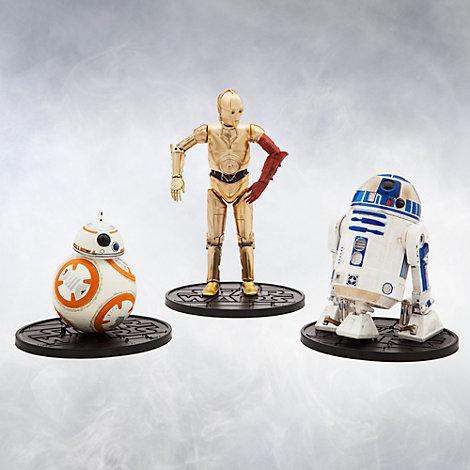 Ensemble de droïdes miniatures de la série Elite, Star Wars : Le Réveil de la Force