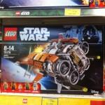 Dispo en France : Lego Star Wars, Lego Spider-Man, Lego Batman, Dragon Ball Super etc..