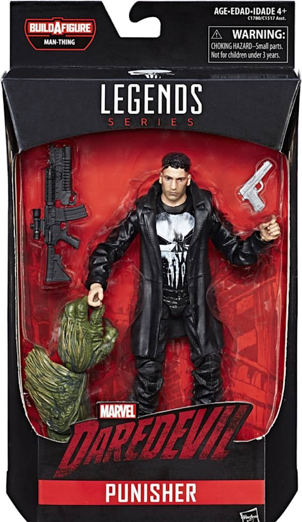 Marvel legends wave Marvel Knight Netflix 2017