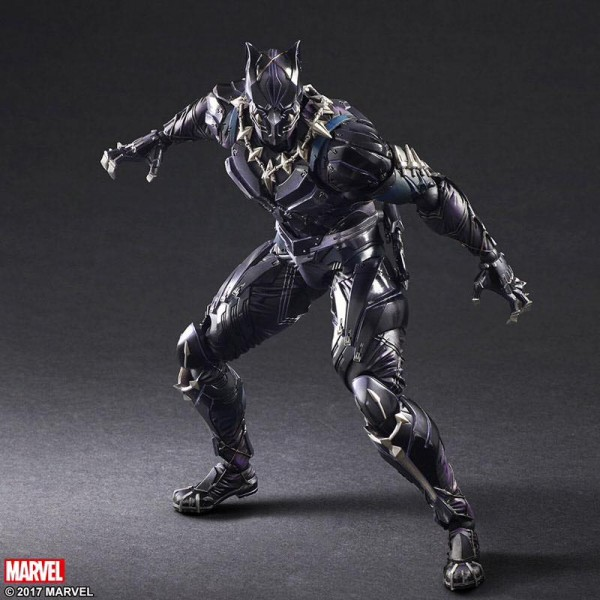 Play Arts Kai -  Black Panther Variant