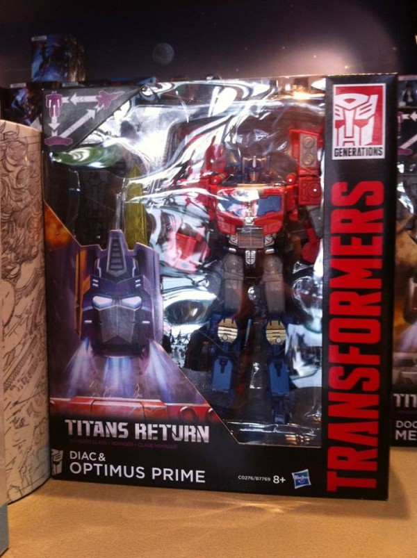 Transformers:  Optimus Prime et Megatron