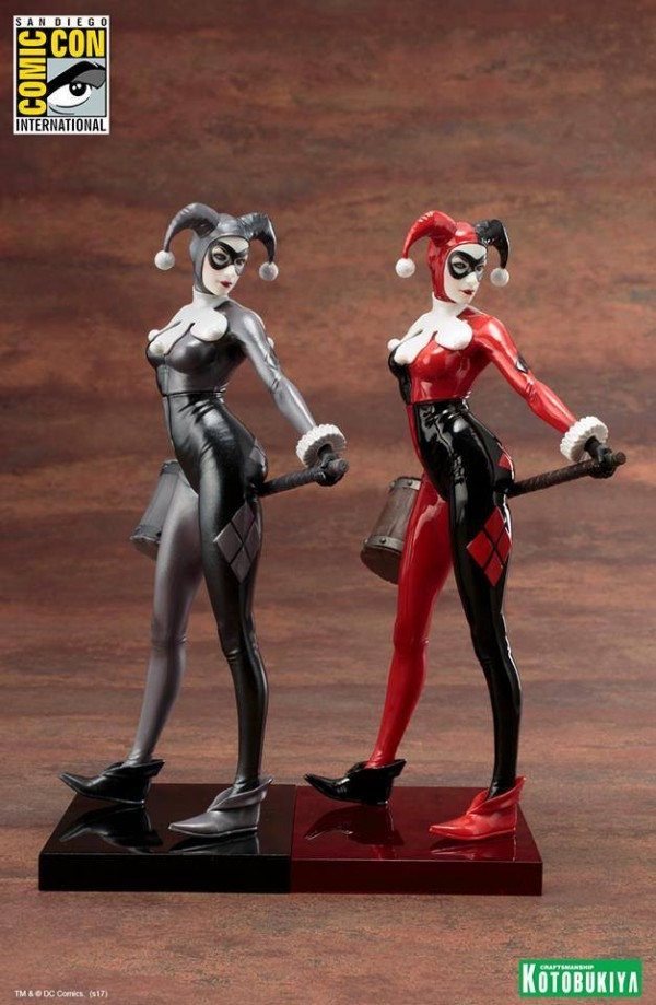 Kotobukiya: Dc Comics - SDCC Exclusive Harley Quinn - A Night in Gotham - ARTFX+ Statue.