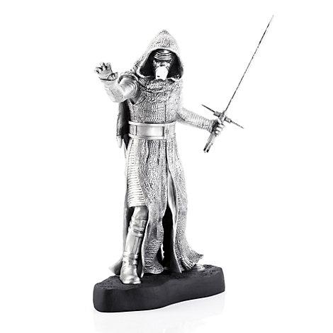 Figurine de Kylo Ren, Star Wars, en étain Royal Selangor - voir le produit