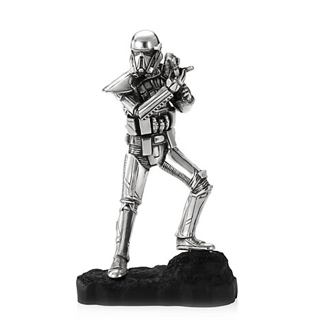 Figurine de Death Trooper, Rogue One : Une histoire de Star Wars, en étain Royal Selangor