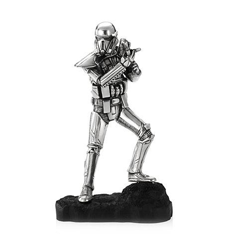 Figurine de Death Trooper, Rogue One : Une histoire de Star Wars, en étain Royal Selangor