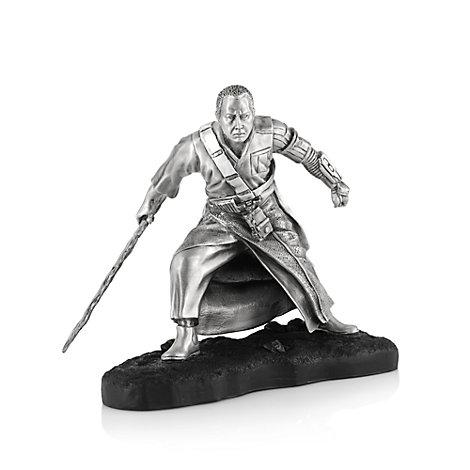 Figurine de Chirrut Îmwe, Rogue One : Une histoire de Star Wars, en étain Royal Selangor